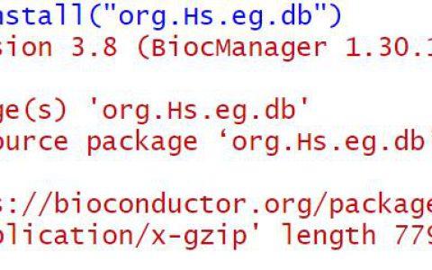 R:gene symbol与id转换